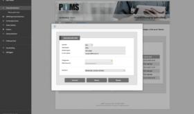 Schermafdruk: PIMS gebruikersbeheer